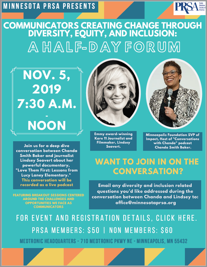 Diversity and Inclusion Forum Featuring Chanda Smith Baker